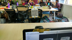 Chair for virtual participant - 1