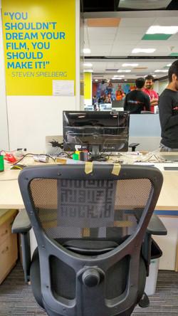 Chair for virtual participant - 2