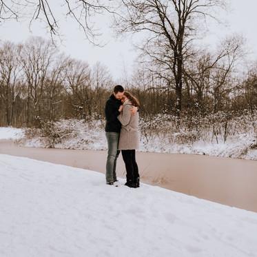 A snowy love story!