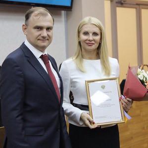 Благодарность от Полпредства Президента РФ