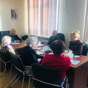 Встреча с представителями героического поколения, общественной организацией «Дети войны»