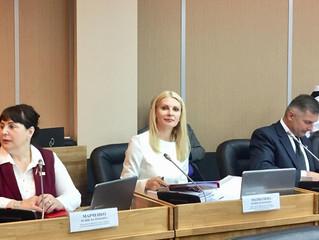 Доклад председателя приморского парламента Александра Ролика