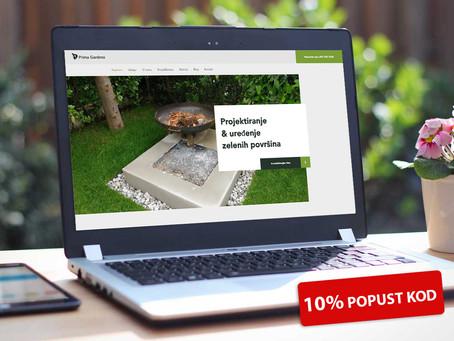 """Iskoristite odličnu priliku & uredite vašu Zelenu površinu uz naš """"Prima Gardens"""" Poklon Kupon!"""