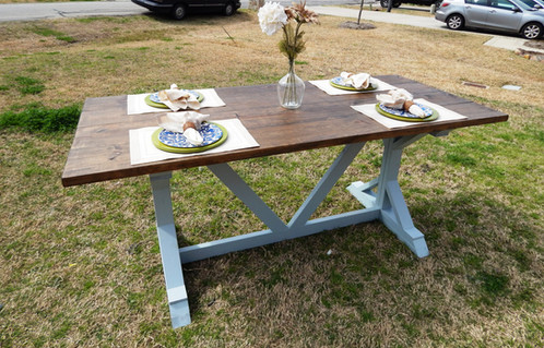 Nice This Beautiful Solid Wood Farmhouse Table Is The Perfect Addition To Any  Home! This Dining Table Is The Definition Of Rustic. At Ross Rustic Tables  We Hand ...