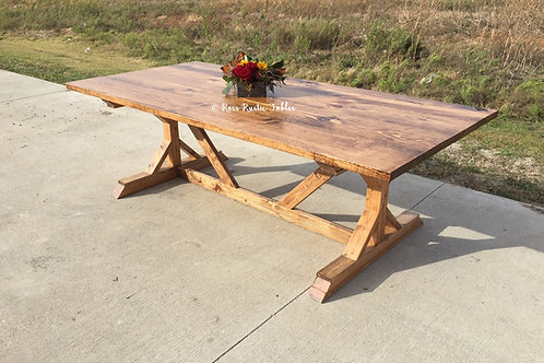 Fancy Farmhouse Table