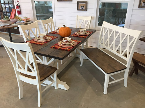 Fancy Farmhouse Dining Set