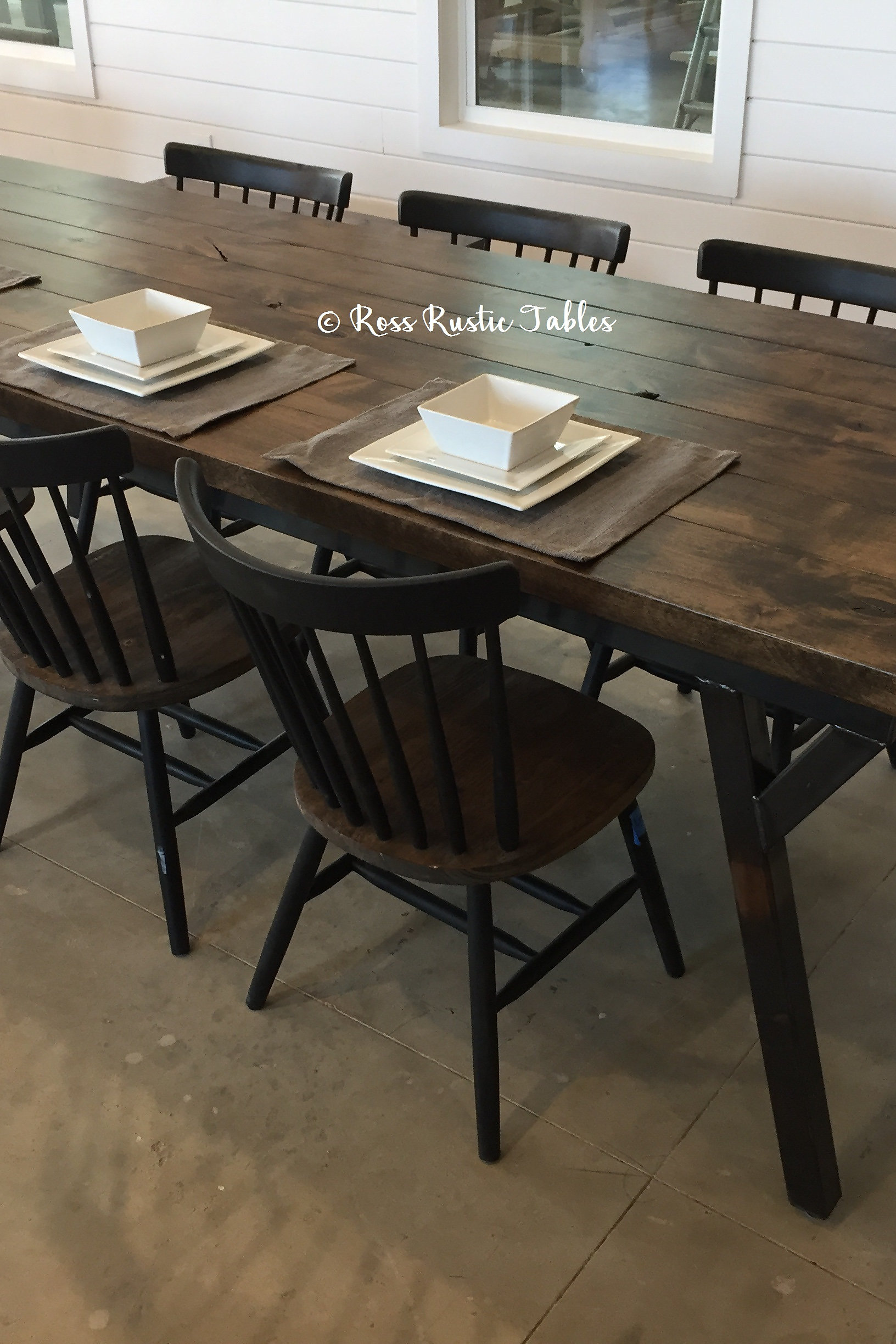 ... Table Is A Perfect Blend Of Rustic U0026 Modern! This Table Is Funky, While  Still Being Beautiful And Great For Any Style Home. At Ross Rustic Tables  ...
