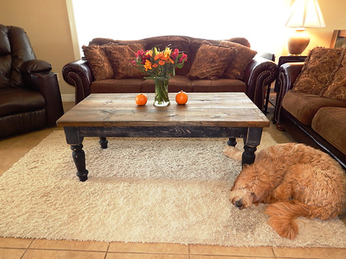 Rustic Cottage Coffee Table
