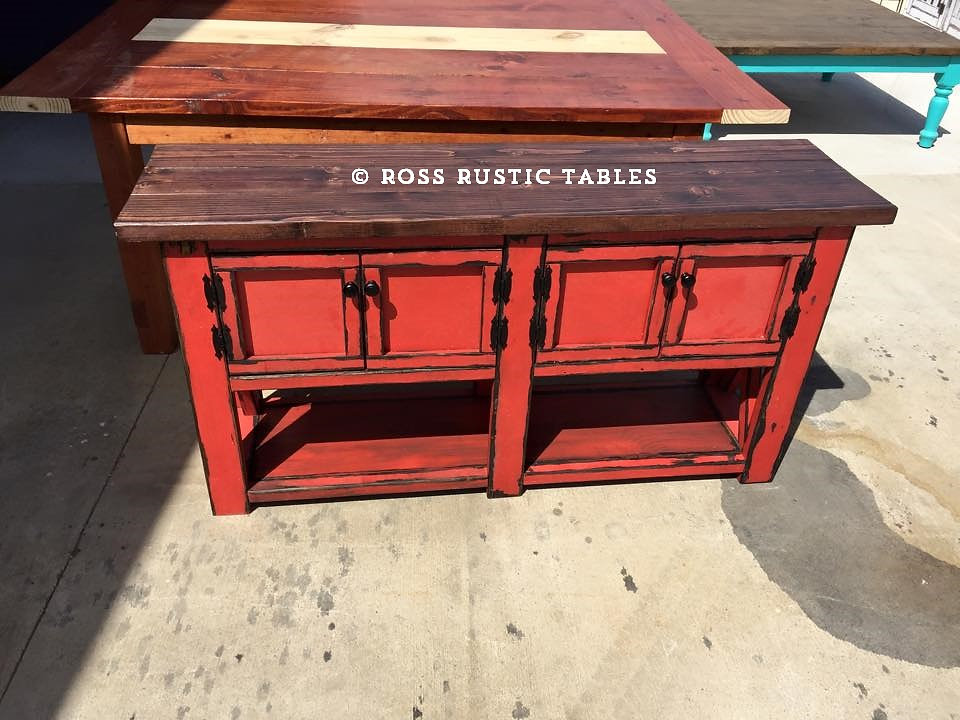 Choose Your Size, Shape And Stain Or Paint Color. At Ross Rustic Tables We  Build All Of Our Pieces To Your Specification.