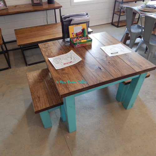Kids Coloring Table Benches