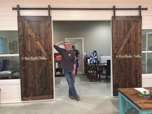 Custom Barn Doors TX