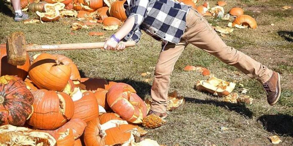 Pumpkin Smash - October 10th