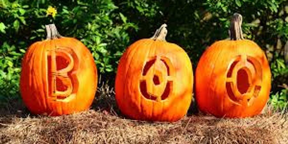 Jack-O-Lantern Carving - October 3rd
