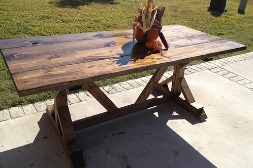 Fancy Farmhouse Table & Bench