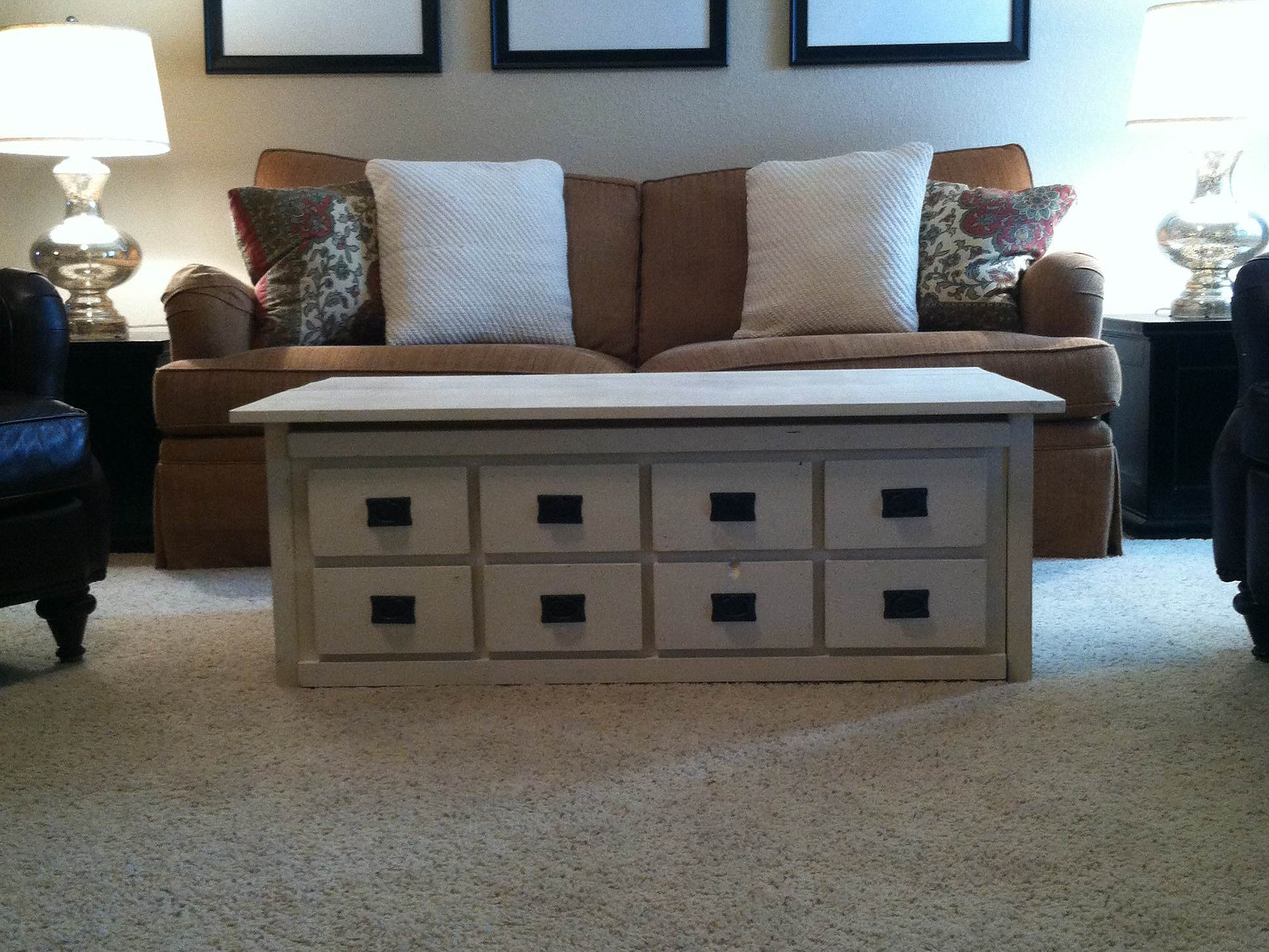 Ross Rustic Tables Apothecary Coffee Table