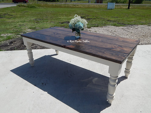 Rustic Cottage Dining Table