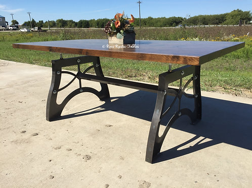 Nuts & Bolts Table w/ Alder Top