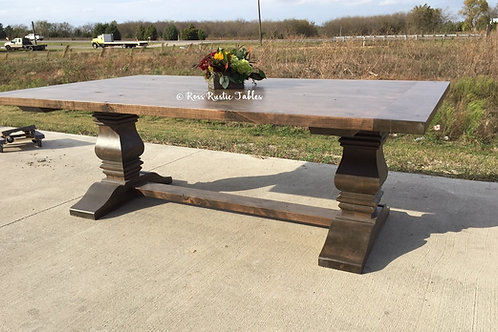 Alder Trestle Table