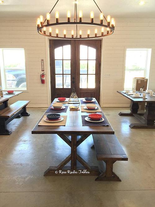 Fancy Farmhouse Table & Bench Set