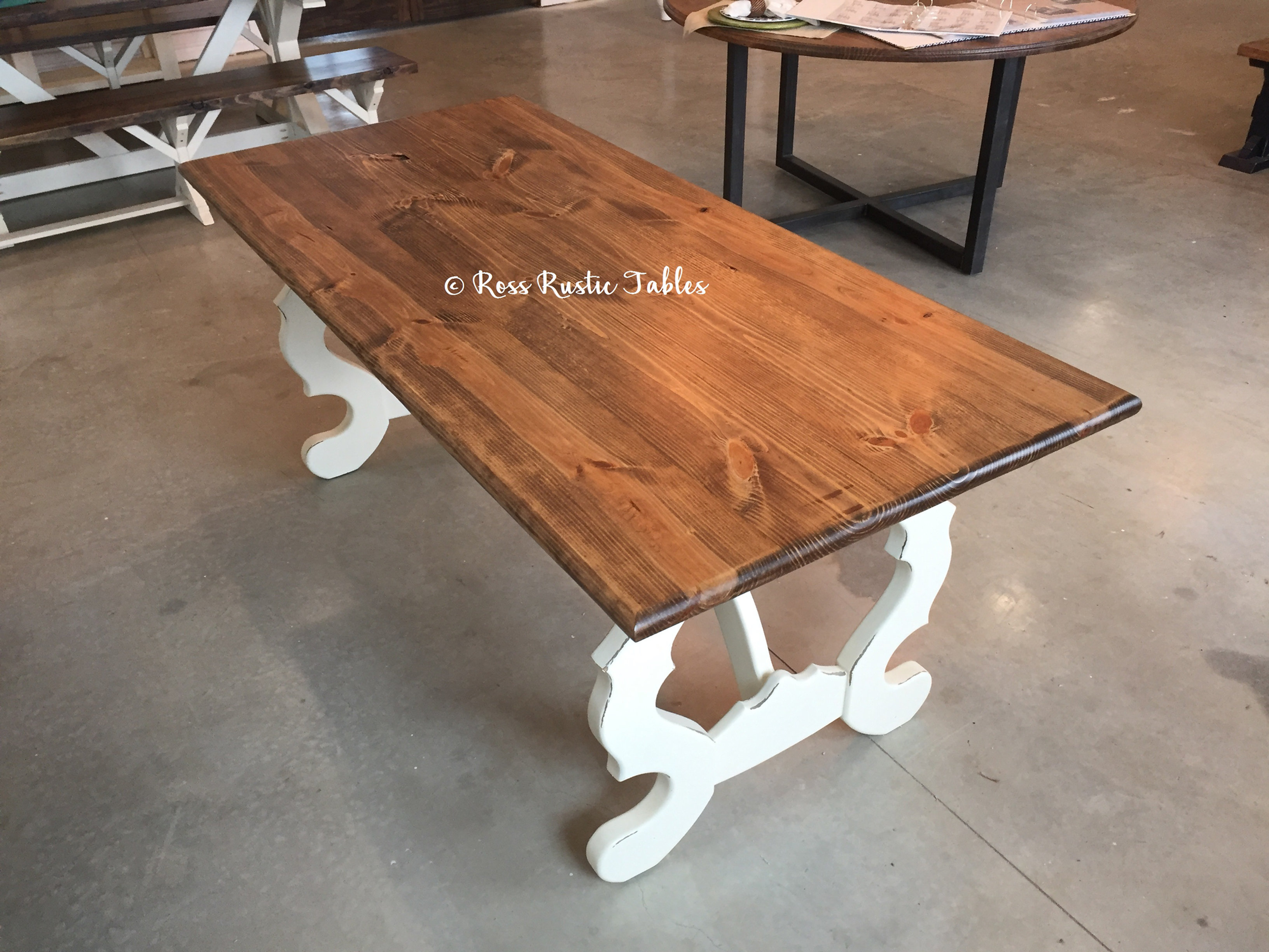 This Beautiful Solid Wood French Country Table Is The Perfect Addition To  Any Home! At Ross Rustic Tables We Hand Make Every Single Piece Of Furniture .