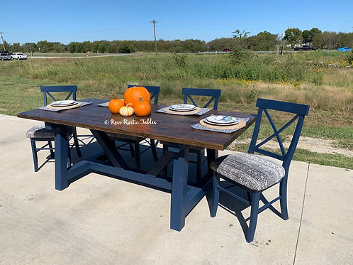 Farm Beam Dining Set