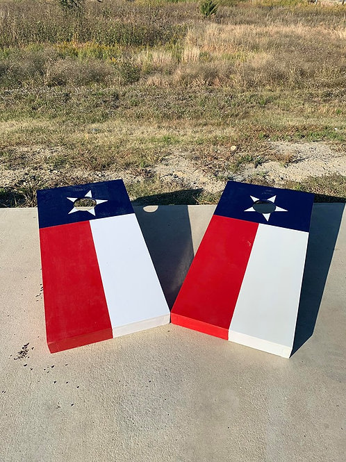 Texas Flag Cornhole