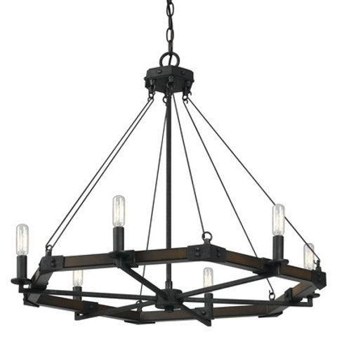 Black Smith Metal Chandelier