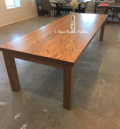 This Beautiful Solid Wood Dining Table Is The Perfect Addition To Any Home!  This Dining Table Is Perfect For A Large Family Gathering. At Ross Rustic  Tables ...