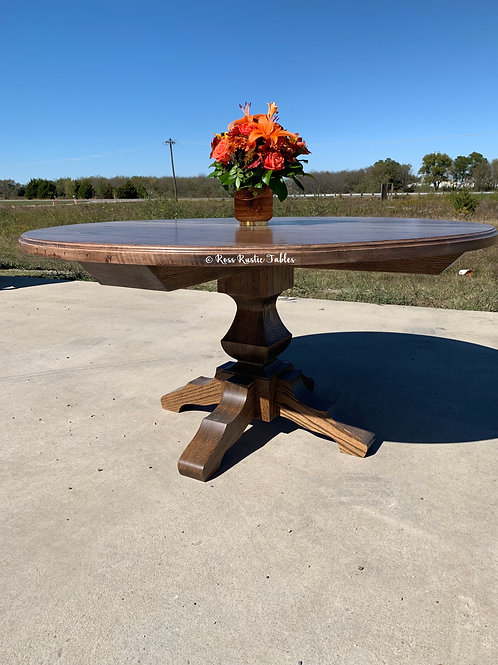 Round Texan Table
