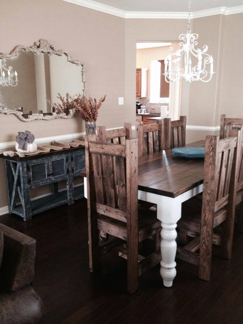 Rustic Cottage Dining Table Ross Tables