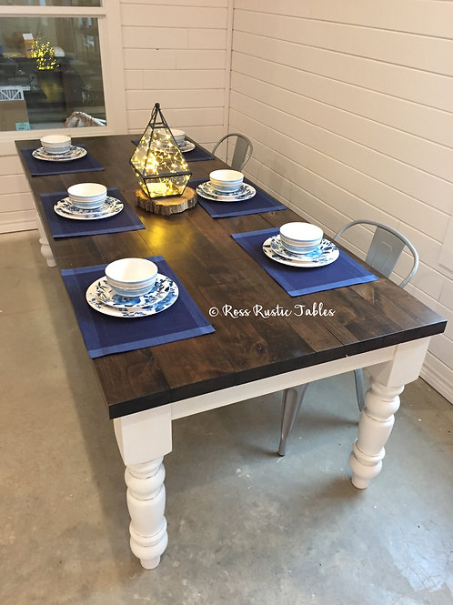 Alder Rustic Cottage Table