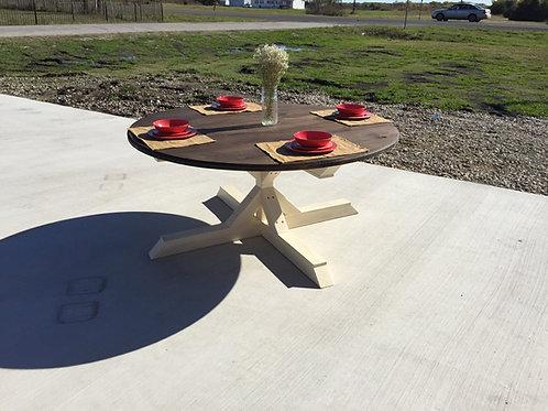 Round Fancy Farmhouse Table