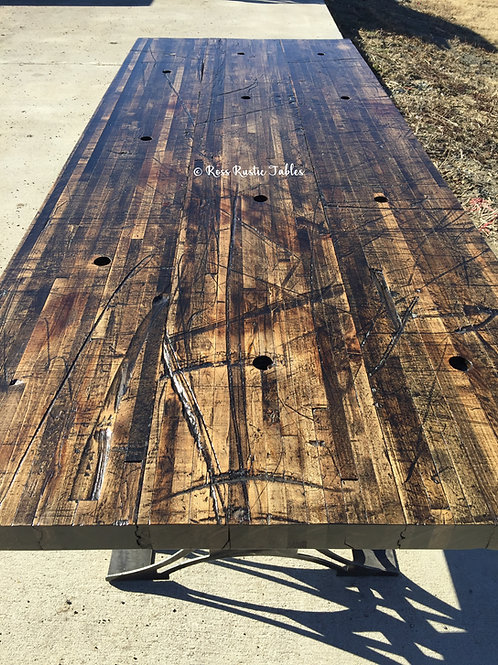 Reclaimed Boxcar Wood