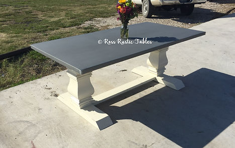 unique dining table made of zinc