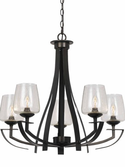 Hand Forged Iron Classic Chandelier