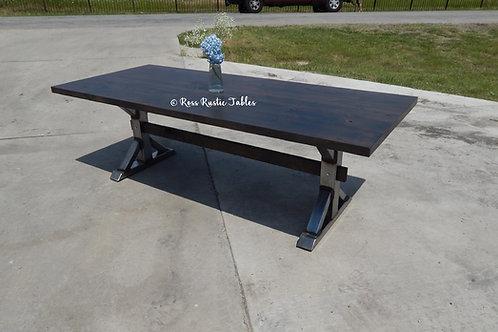 Metal Fancy Farmhouse Table