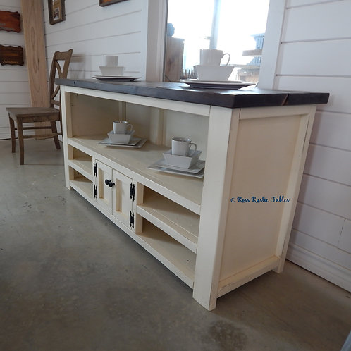 Custom Sofa/Buffet Table