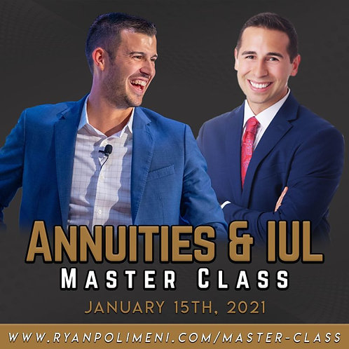 Annuities Master Class *Includes LU Academy*