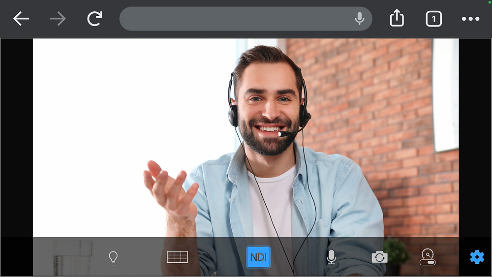 NDI Remote video and audio sharing remotely over the internet