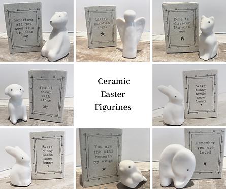 Mini Ceramic Figurines