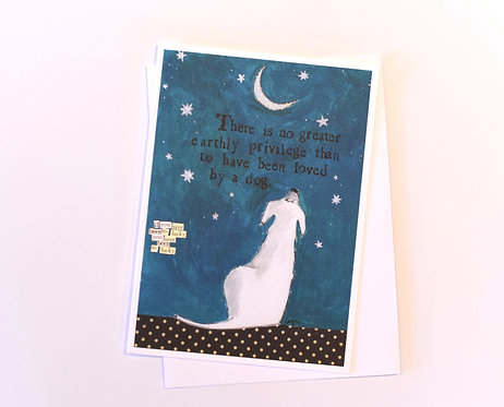 Curly girl card