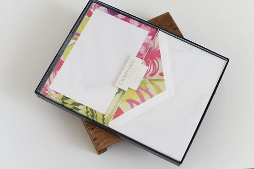 Modern Lily Tropical Notecards
