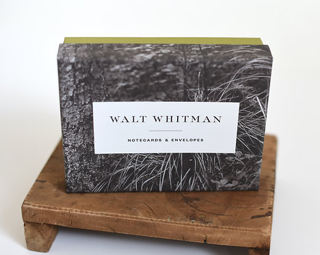 Walt Whitman Notecards