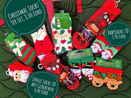 Weihnachtliche Themensocken für alle... 🎄🎅