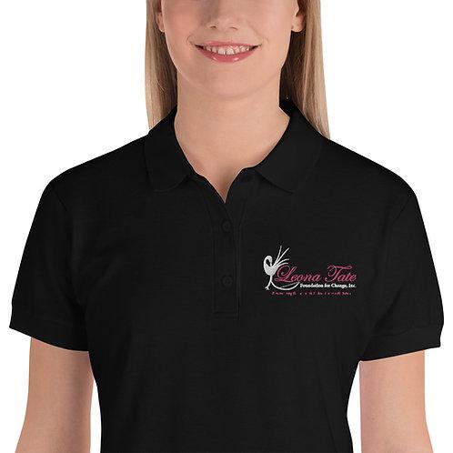 LTFC Women's Black Polo Shirt
