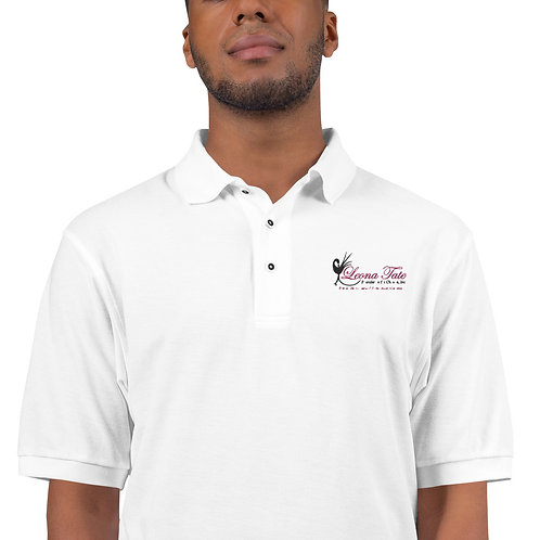 LTFC Men's White Premium Polo