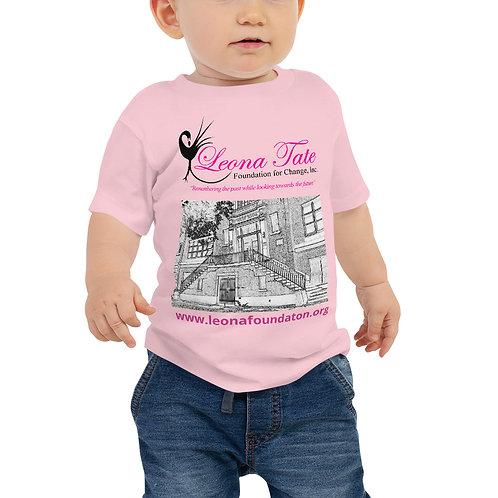 LTFC Baby Jersey Short Sleeve Pink Tee