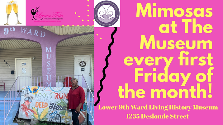 Mimosas at The Museum every first friday