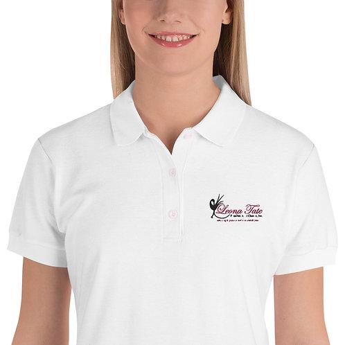 LTFC Women's White Polo Shirt