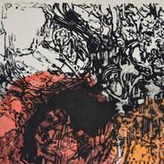 70 x 100 cm, Carborundum, Chine-collé